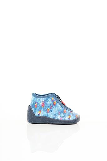 Chaussons/Pantoufles bleu ELEFANTEN pour enfant