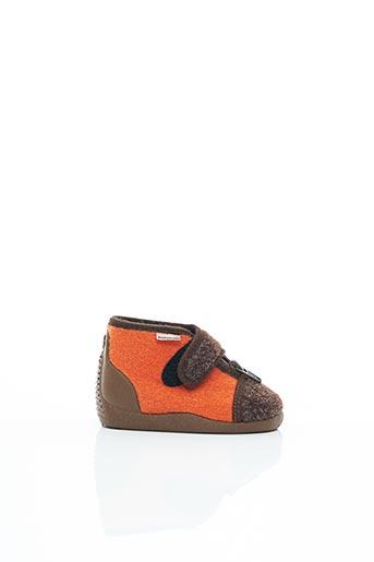 Chaussons/Pantoufles marron BABYBOTTE pour enfant