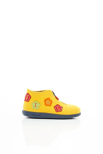 Chaussons/Pantoufles jaune ELEFANTEN pour fille