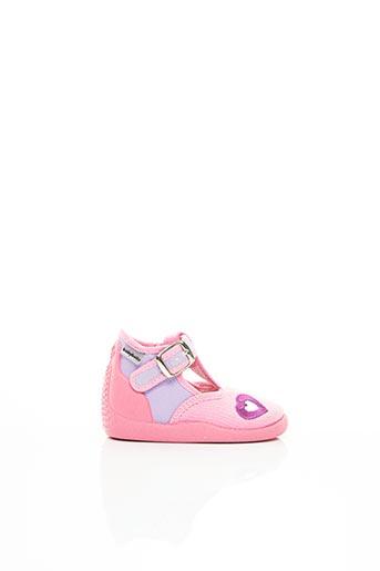 Chaussons/Pantoufles rose BABYBOTTE pour fille