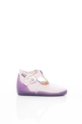 Chaussons/Pantoufles violet BABYBOTTE pour fille