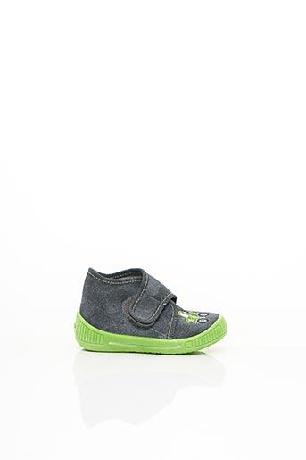 Chaussons/Pantoufles vert SUPER FIT pour garçon