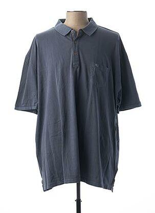 Polo manches courtes bleu CAMEL ACTIVE pour homme