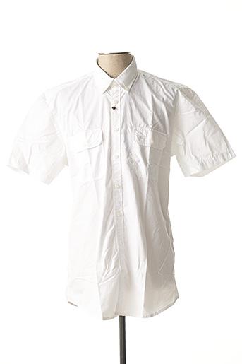 Chemise manches courtes blanc CAMEL ACTIVE pour homme