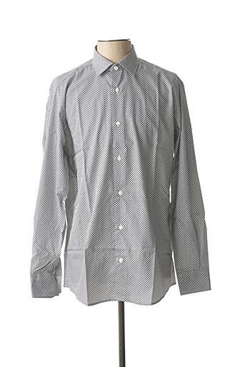 Chemise manches longues gris BELLONI pour homme