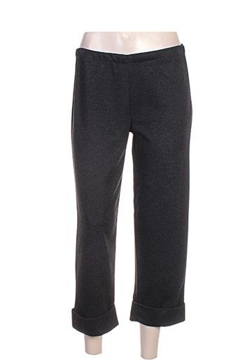 Pantalon 7/8 noir G!OZE pour femme