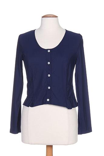Veste casual bleu G!OZE pour femme