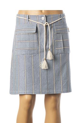 Jupe courte bleu LE PETIT BAIGNEUR pour femme