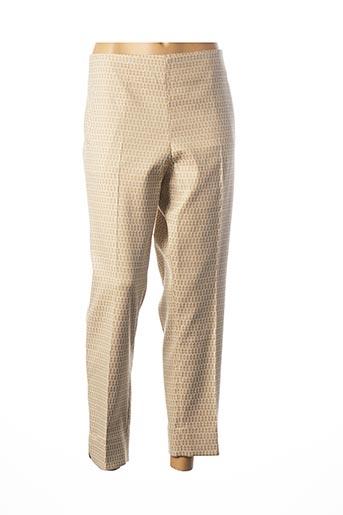 Pantalon casual beige D.SPORT pour femme
