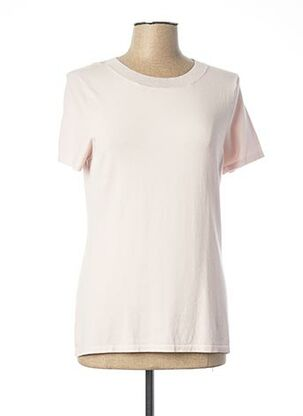 Pull col rond rose COMMA, pour femme