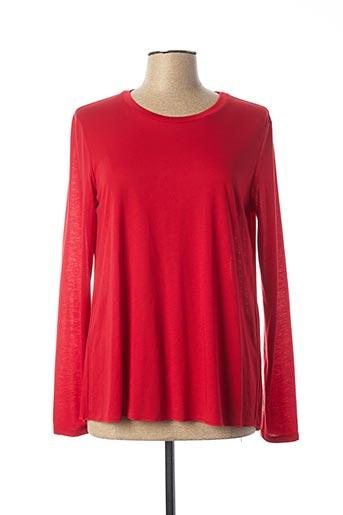 T-shirt manches longues rouge MARELLA pour femme