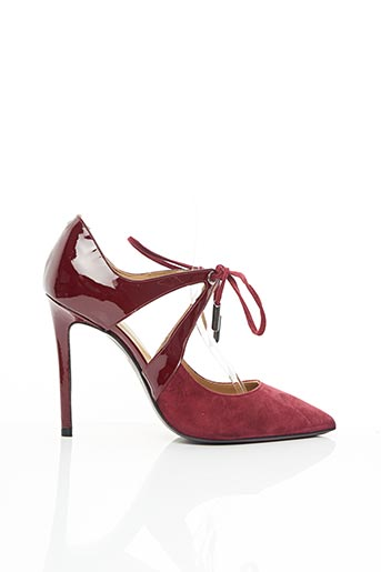 Escarpins rouge EVALUNA pour femme