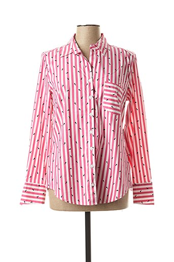 Chemisier manches courtes rose BETTY BARCLAY pour femme