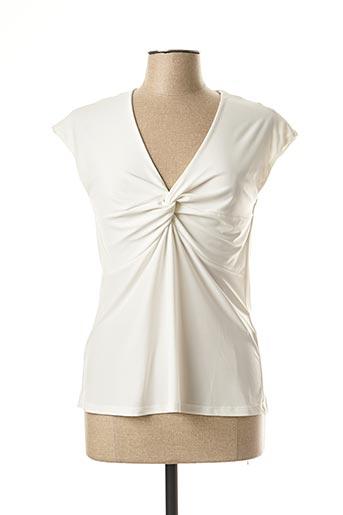 T-shirt manches courtes beige WEINBERG pour femme