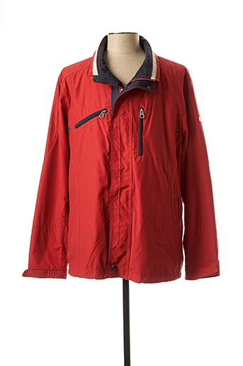 Imperméable/Trench rouge JUPITER pour homme