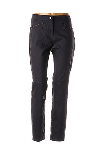 Pantalon casual bleu COMMA, pour femme