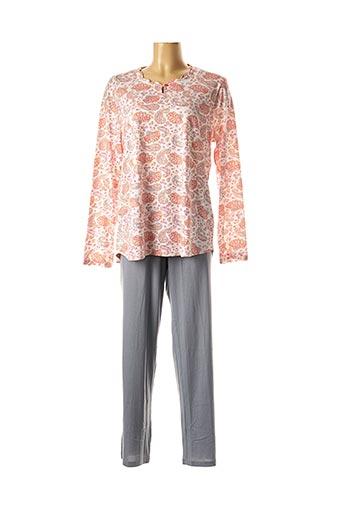 Pyjama gris CANAT pour femme
