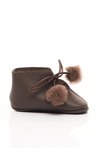 Chaussons/Pantoufles marron PEPE pour enfant