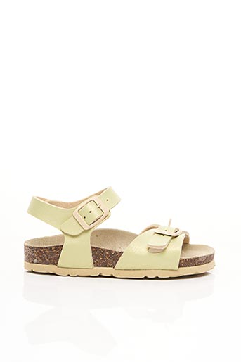 Sandales/Nu pieds vert GOLDSTAR pour fille