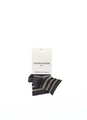 Chaussettes noir LOUIS*LOUISE pour fille