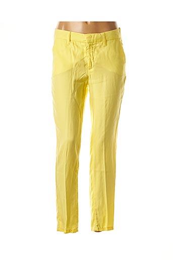 Pantalon chic jaune PIERRE CARDIN pour femme