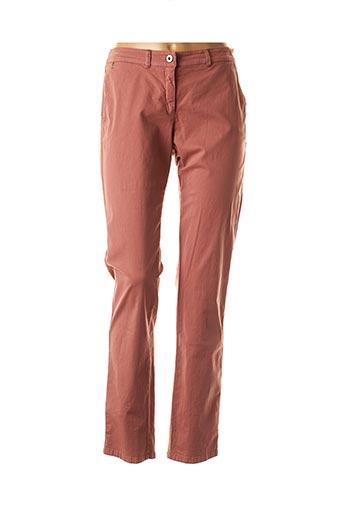 Pantalon casual rose VOODOO pour femme