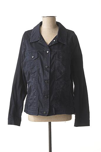 Veste casual bleu ZELI pour femme