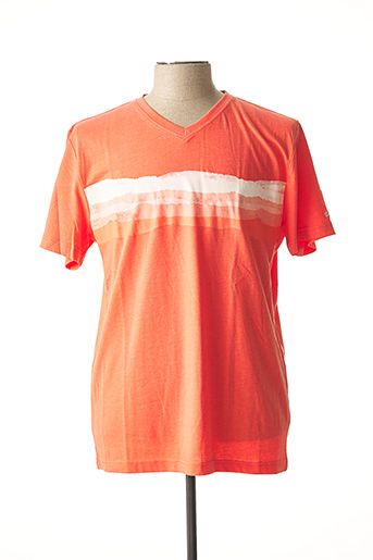 T-shirt manches courtes orange TBS pour homme
