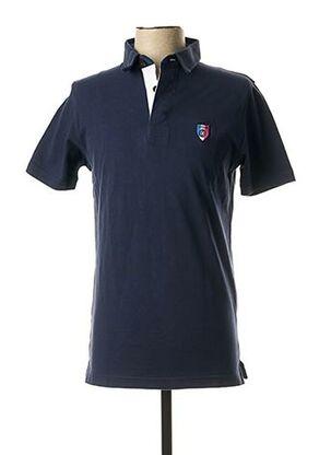 Polo manches courtes bleu CAMBERABERO pour homme