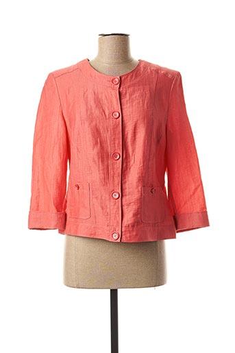 Veste casual orange LEBEK pour femme