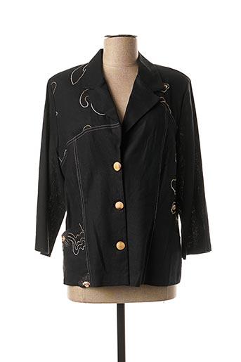 Veste chic / Blazer noir REGINE pour femme