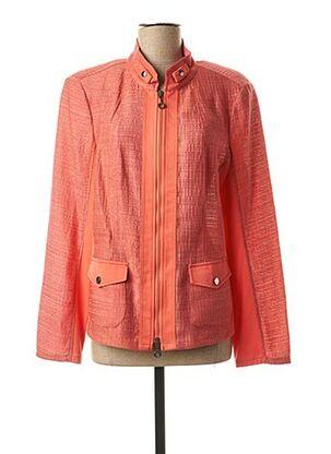 Veste casual orange FRANK WALDER pour femme