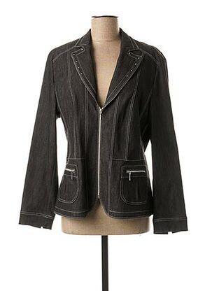 Veste chic / Blazer noir LEBEK pour femme