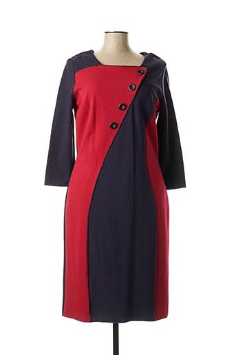 Robe mi-longue bleu FRANK WALDER pour femme