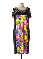 Robe mi-longue noir OLIVIER PHILIPS pour femme seconde vue