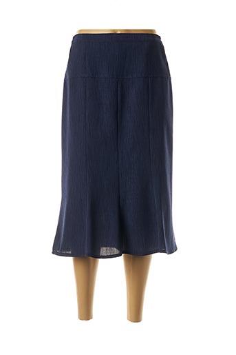 Jupe mi-longue bleu COUTUREINE pour femme