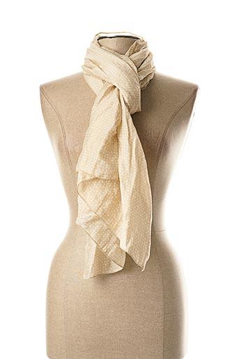 Foulard beige WEINBERG pour femme