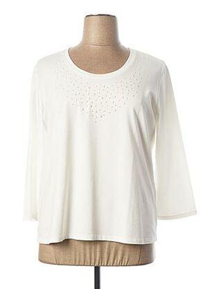 T-shirt manches longues blanc WEINBERG pour femme