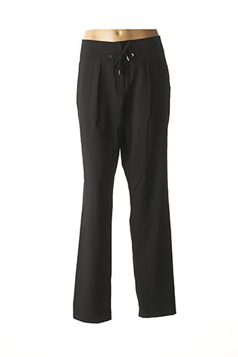 Pantalon chic noir GEORGES RECH pour femme