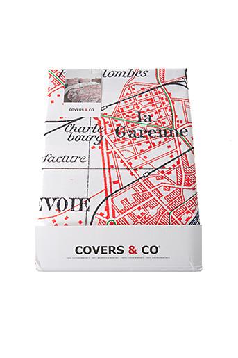 Parure de lit blanc COVERS & CO pour femme