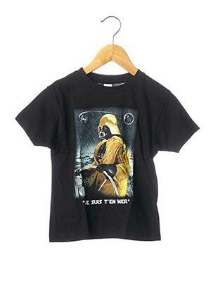T-shirt manches courtes noir SOL'S pour garçon