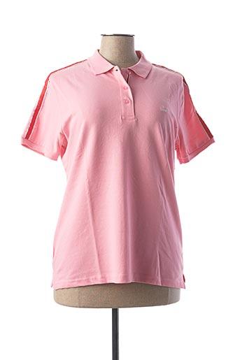 Polo sans manche rose SCOTT pour femme