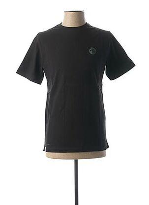 T-shirt manches courtes noir GREEN LION pour homme
