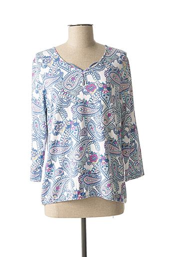 T-shirt manches longues bleu RABE pour femme