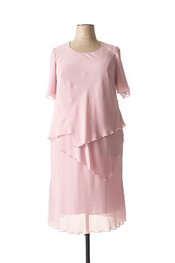 Robe longue rose JEAN DELFIN pour femme