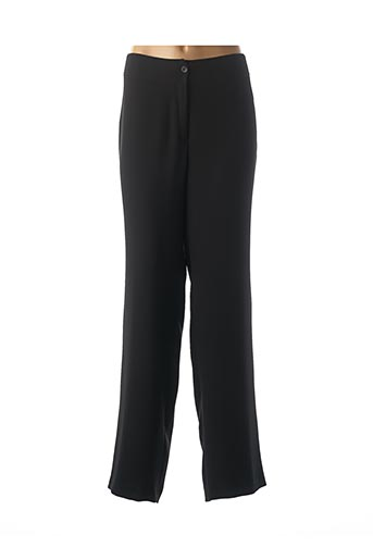 Pantalon casual noir ANNE KELLY pour femme