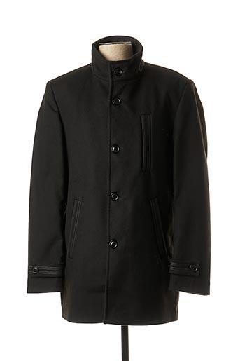 Manteau court noir REVER MILE pour homme