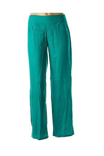 Pantalon casual vert LA FIANCEE DU MEKONG pour femme