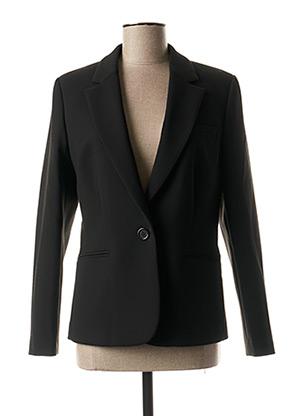 Veste chic / Blazer noir BRUNO SAINT HILAIRE pour femme