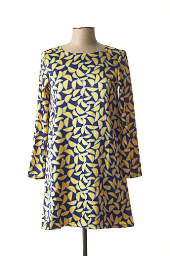 Robe courte bleu COMPAÑIA FANTASTICA pour femme